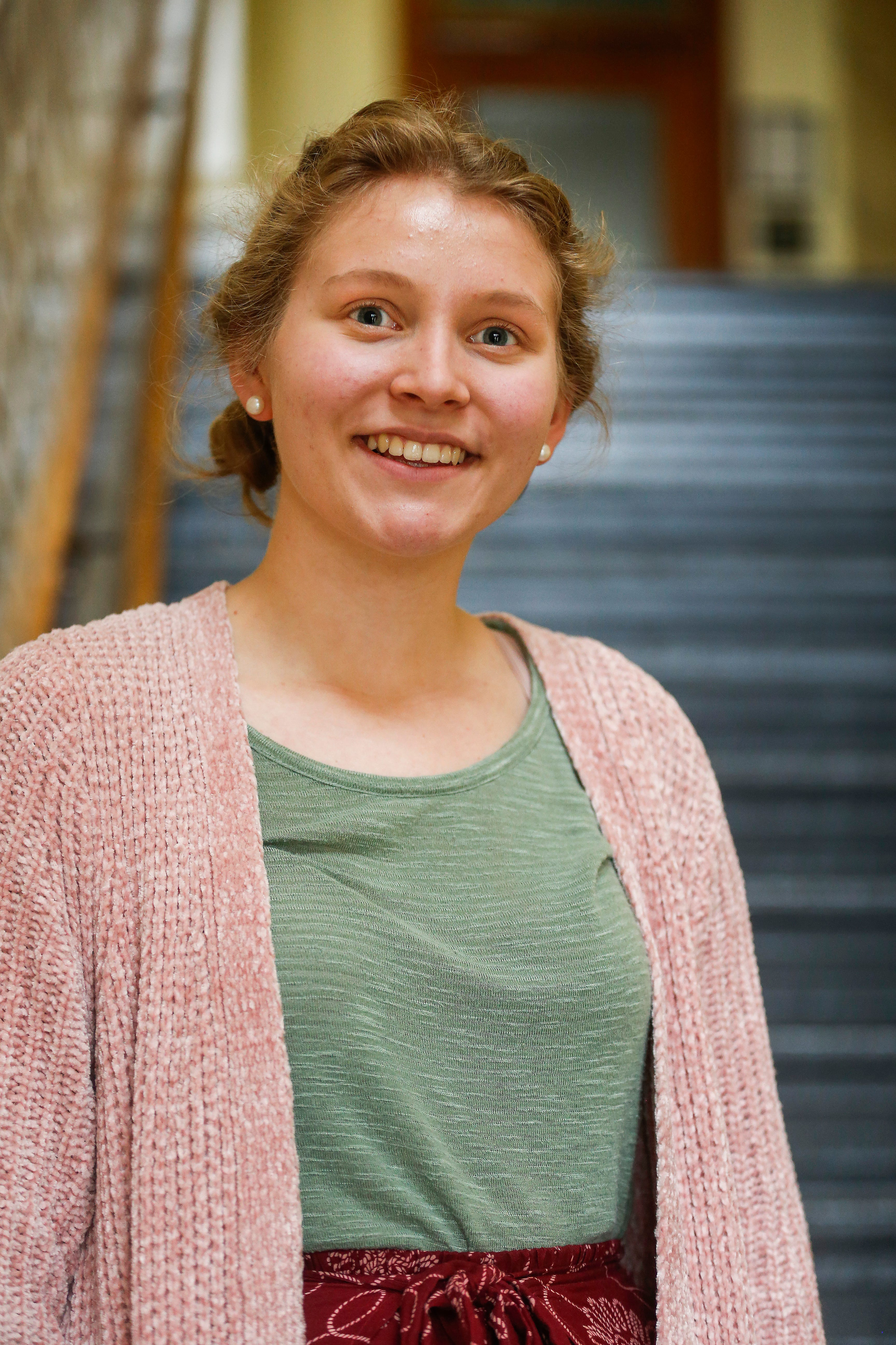 Lauren Raatz, 17, a junior at Central High School, scored a perfect 36 on the ACT.