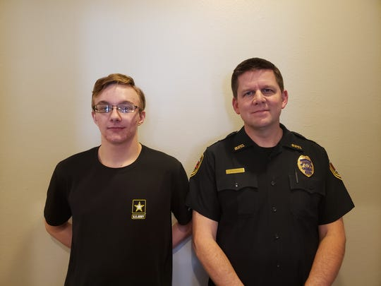 Springfield Police Captain Tad Peters was matched with Nick through Big Brothers Big Sisters of the Ozarks back in 2011. Today, Nick wants to follow in Peters' footsteps in law enforcement. Nick has enlisted in the U.S. Army reserves.