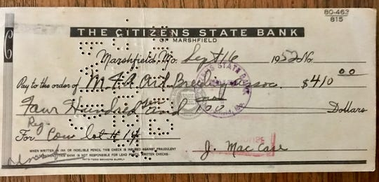 Sept. 16, 1952: That fateful day when J. Mac Case bought June the cow for $410.