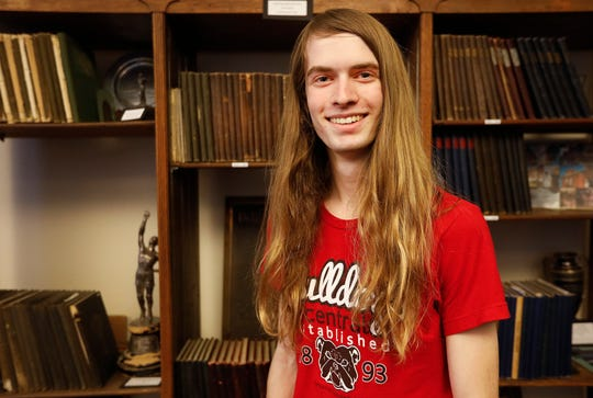 Jacob Sharp, 17, a junior at Central High School, scored a perfect 36 on the ACT.