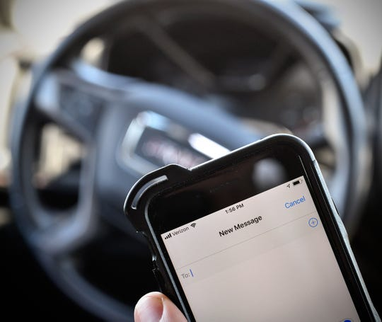 More than 9,500 texting-and-driving citations were issued statewide in 2018, according to the Minnesota Department of Public Safety.
