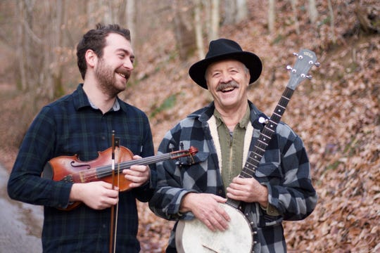 Randy Wilson and son Gabriel Dansereau bring Kentucky music traditions to a show at 8 p.m. Friday at Blue Tavern,