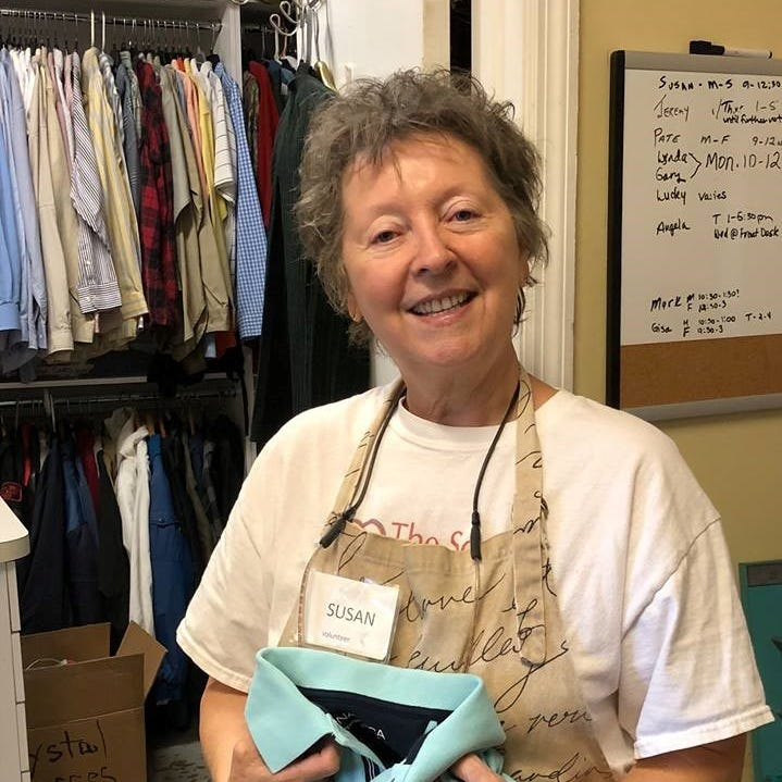 Luminaries Star Volunteer: 'Miss Sue' is organizational powerhouse at The Source in Vero Beach