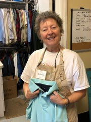 """Susan Johnson, or """"Miss Sue"""" as she is affectionately known, is a volunteer at The Source in Vero Beach."""