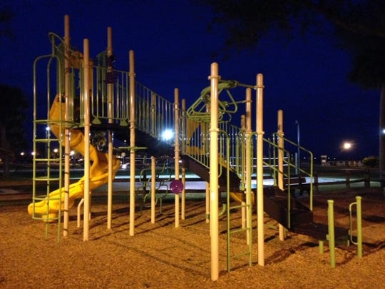 This playground equipment was installed in 2018 at Riverview Park in Sebastian.