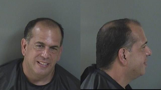 Brian Dosio, 51, of Lake Worth, was arrested after deputies said he broke into an ex-fiance's Indian River County home and attacked her.