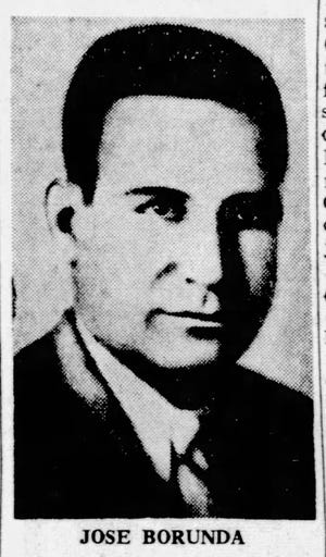 Juárez Mayor Jose Borunda, who was assassinated on April 1, 1938.