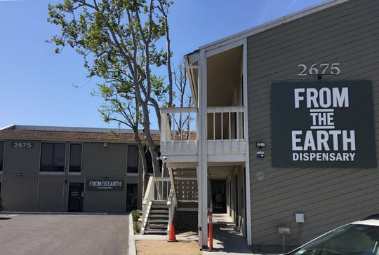 From the Earth dispensary shares space with Skunkmasters at 2675 N. Ventura Road in Port Hueneme.