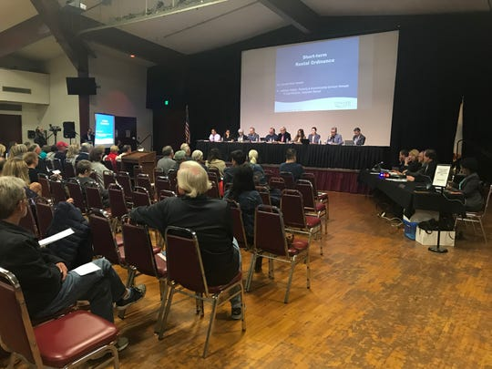 The Oxnard City Council considered details of a potential short-term rental ordinance on Monday at the Oxnard Performing Arts and Convention Center.