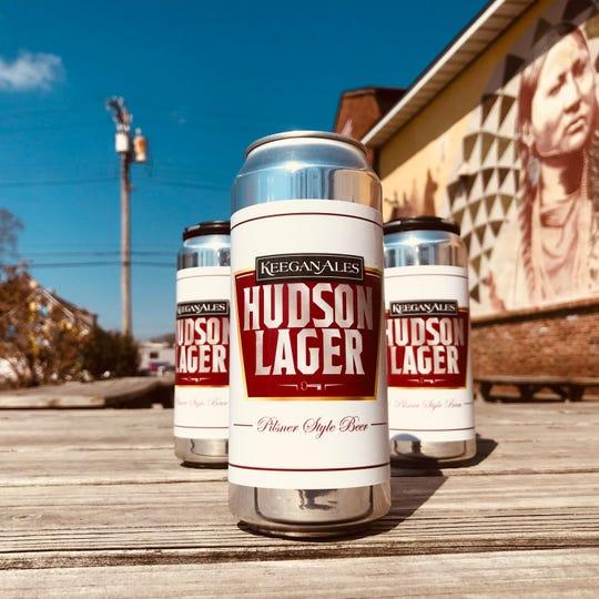 Keegan Ale's Hudson Lager.