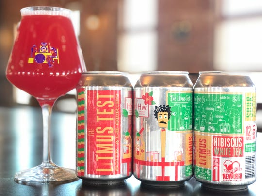 The Litmus Test 5% Adjunct Sour Ale Series from Newburgh Brewing Company.