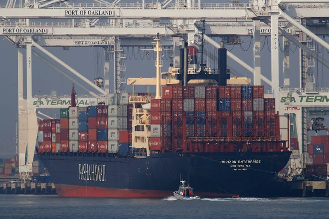 Trade between the U.S. and China has been has been down since President Donald Trump imposed tariffs on $250 billion of Chinese imports, about half what the United States buys from that country. China retaliated with tariffs on about $110 billion of U.S. items.