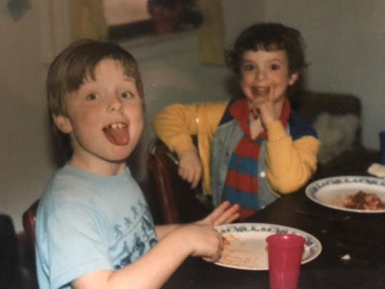 Both lighthearted and serious times were had around the dinner table.