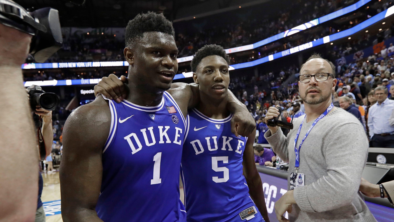 bec5577dc82 NBA Mock Draft 2019, post-regular season: Who's after Zion Williamson?