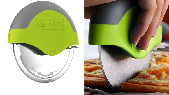 Grab the perfect slice with this innovative pizza cutter