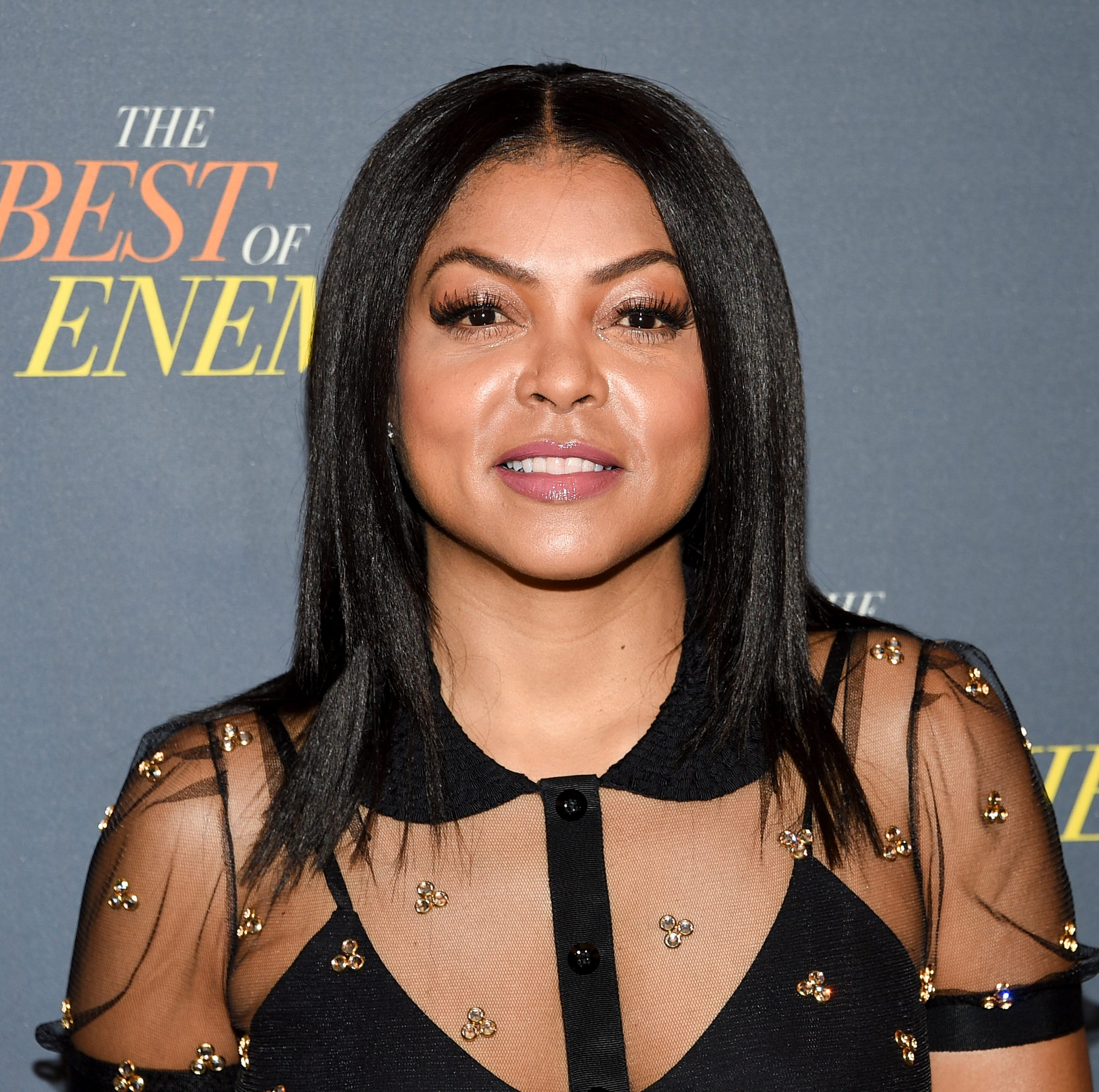 """Actress Taraji P. Henson poses during the """"The Best of Enemies"""" cast photo call at The Whitby Hotel on Sunday, March 17, 2019, in New York. (Photo by Evan Agostini/Invision/AP) ORG XMIT: NYEA112"""