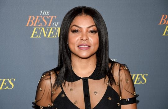 """""""When they yell 'cut' or 'that's a wrap,' I go home to some very real problems,"""" says Taraji P. Henson. """"In my own headspace, sometimes, it's not so happy."""""""