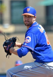 Jacob deGrom won the Cy Young last season with the Mets.