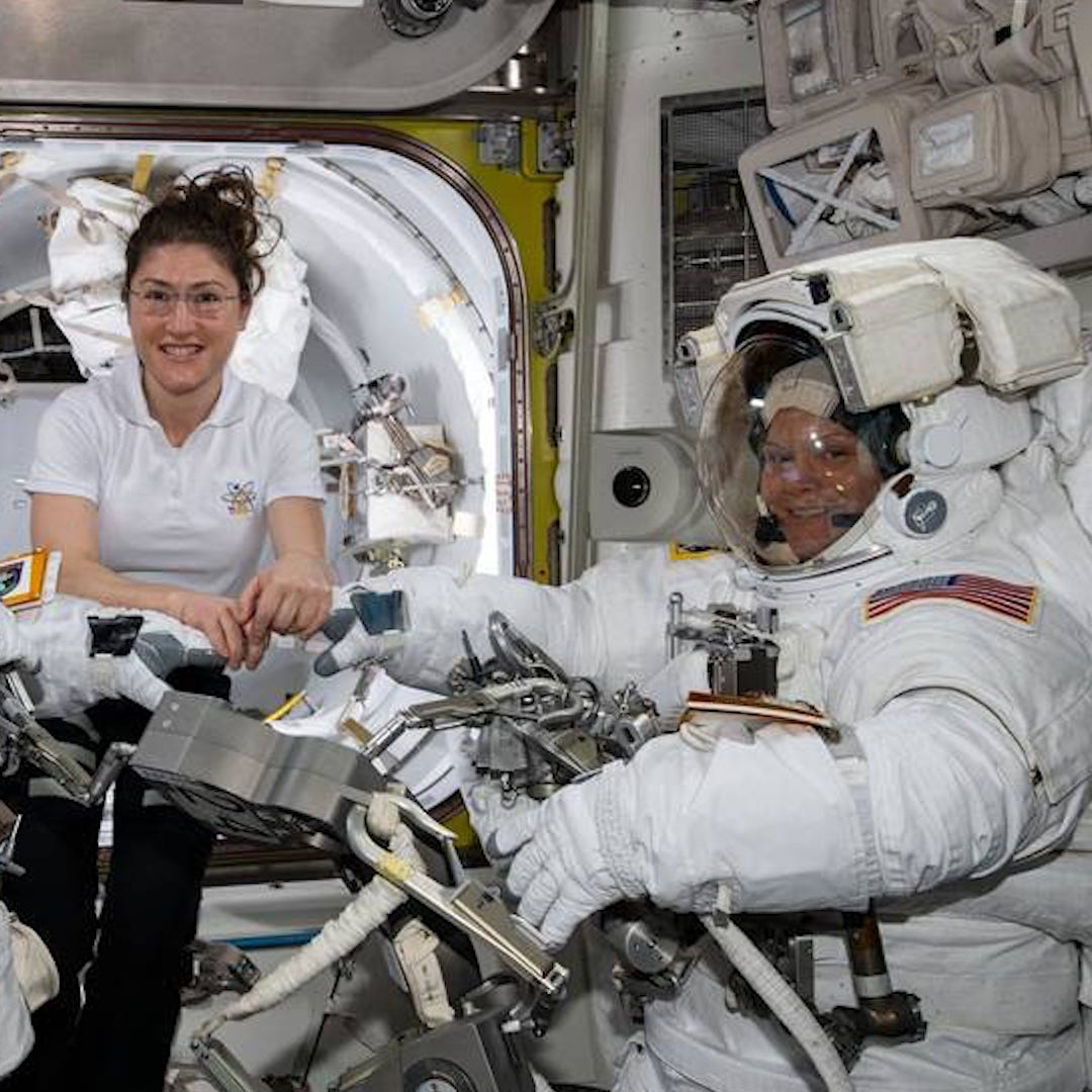 Here's why NASA scrubbed all-female spacewalk