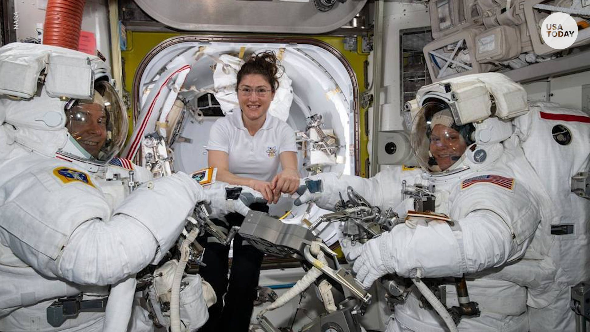 First 'historic' all-female spacewalk canceled for surprising reason