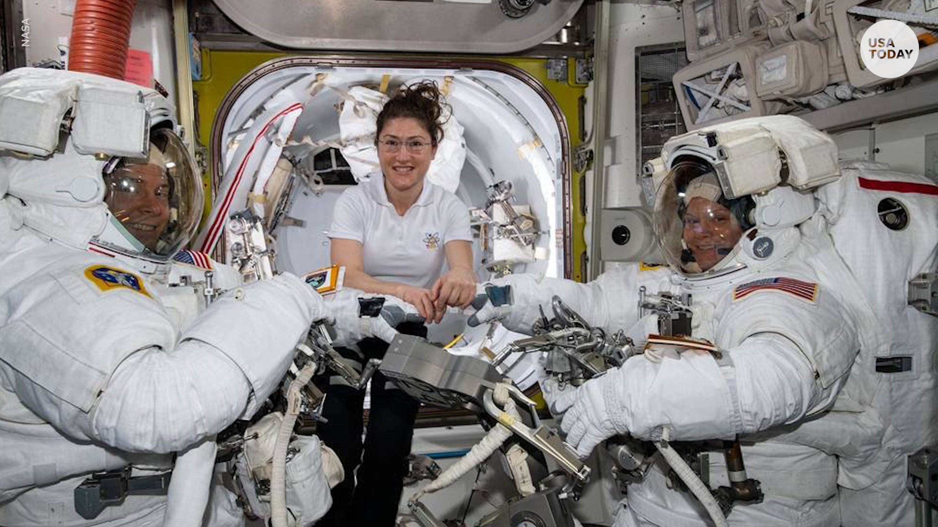 Not enough spacesuits in women's sizes?! Twitter reacts to NASA canceling all-female spacewalk