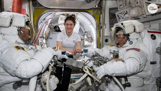 2 female NASA astronauts and a Canadian flight controller will conduct the first-ever all-woman space walk