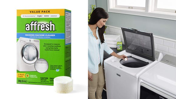 An easier way to clean your washing machine.