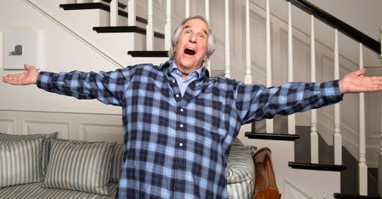 Who can blame Henry Winkler for celebrating? The 'Barry' star won his first Primetime Emmy last fall after five nominations going back to his '70s star-making turn on 'Happy Days.'