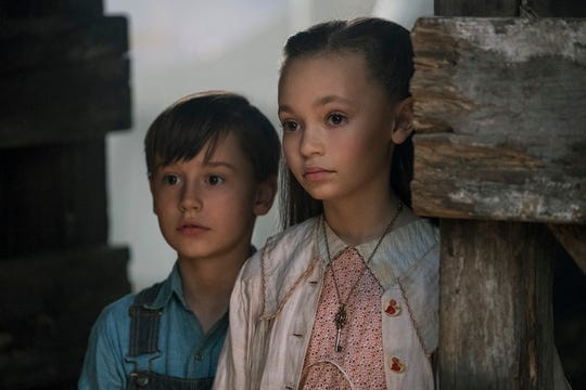 "Finley Hobbins and Nico Parker make their acting debuts in ""Dumbo."""