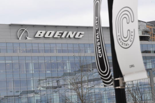Boeing Company in Crystal City, adjacent to the Pentagon in Arlington, Virginia.