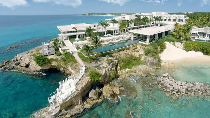 The most luxurious hotels and resorts in the Caribbean