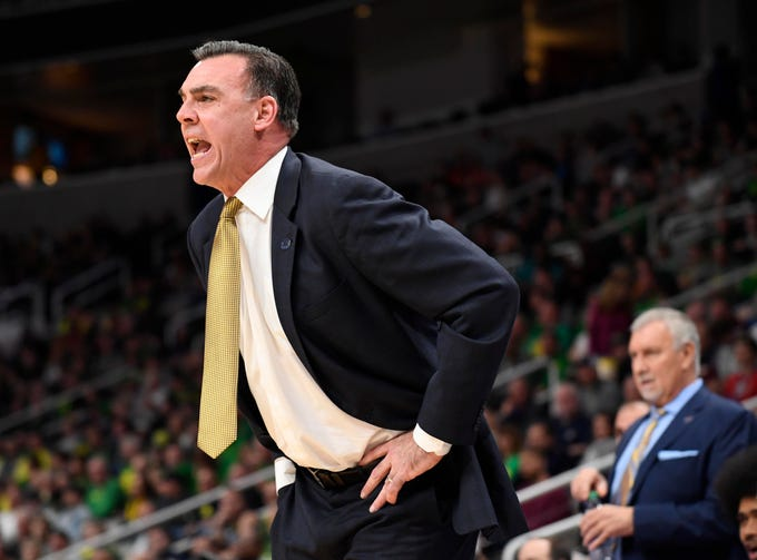 UC Irvine Anteaters head coach Russell Turner on Sunday.
