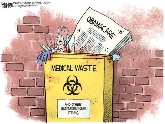 Obamacare trashed
