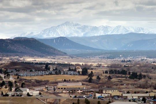 Castle Rock, Colorado, the seat of Douglas County.