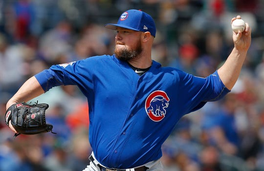 Lester has won 61 games in four seasons with the Cubs.