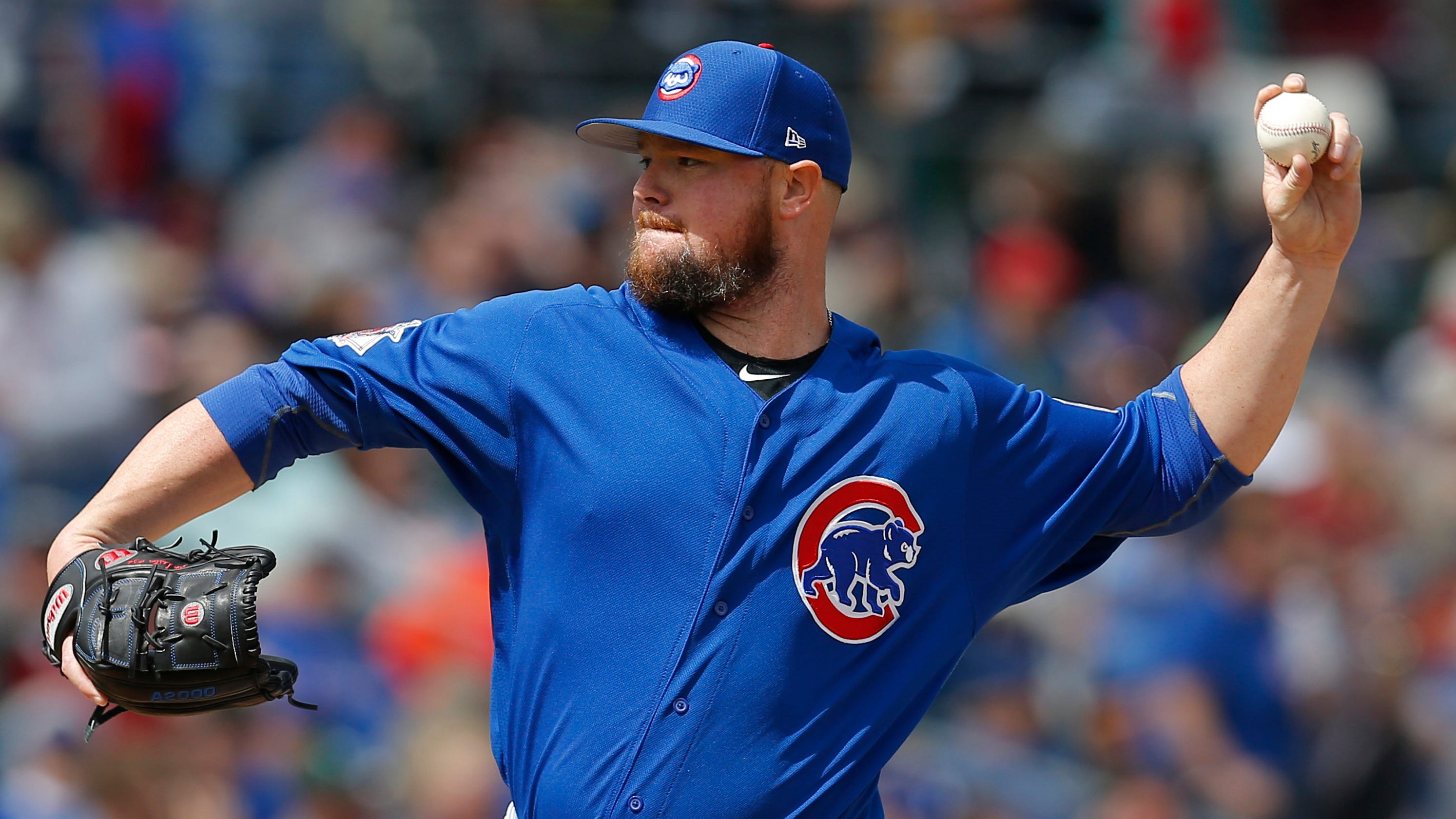 best loved abf80 9f4ac Jon Lester: Cubs veteran has no hard feelings towards Red Sox