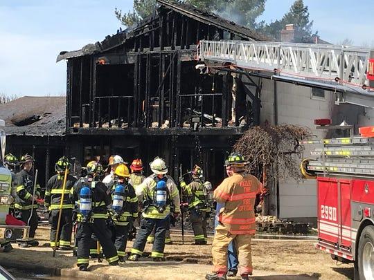 Hazlet fire. March 27, 2019.