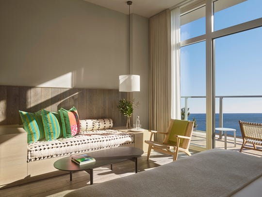 iStar unveiled a glimpse at its new Asbury Ocean Club Hotel, part of the Asbury Ocean Club, Surfside Resort and Residences at 1101 Ocean Avenue