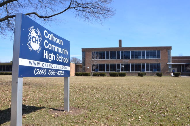 Calhoun Community High School is set to move from the former Territorial School building it leases from Lakeview School District into The Gathering Place owned by the Burma Center in Springfield.