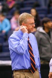 Owego coach Chris Evans
