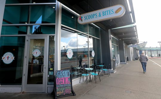 Scoops & Bites is now open in the former Cold Stone Creamery space in Bremerton. Owners of the Cold Stone franchise sold the location to the owner of the adjacent Harborside Market.