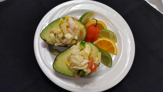 Ecuadorian Shrimp Ceviche, which features shrimp, onions and corn marinated in lime tomato sauce, is on the menu for Thursday's International Dinner at Florida Tech.