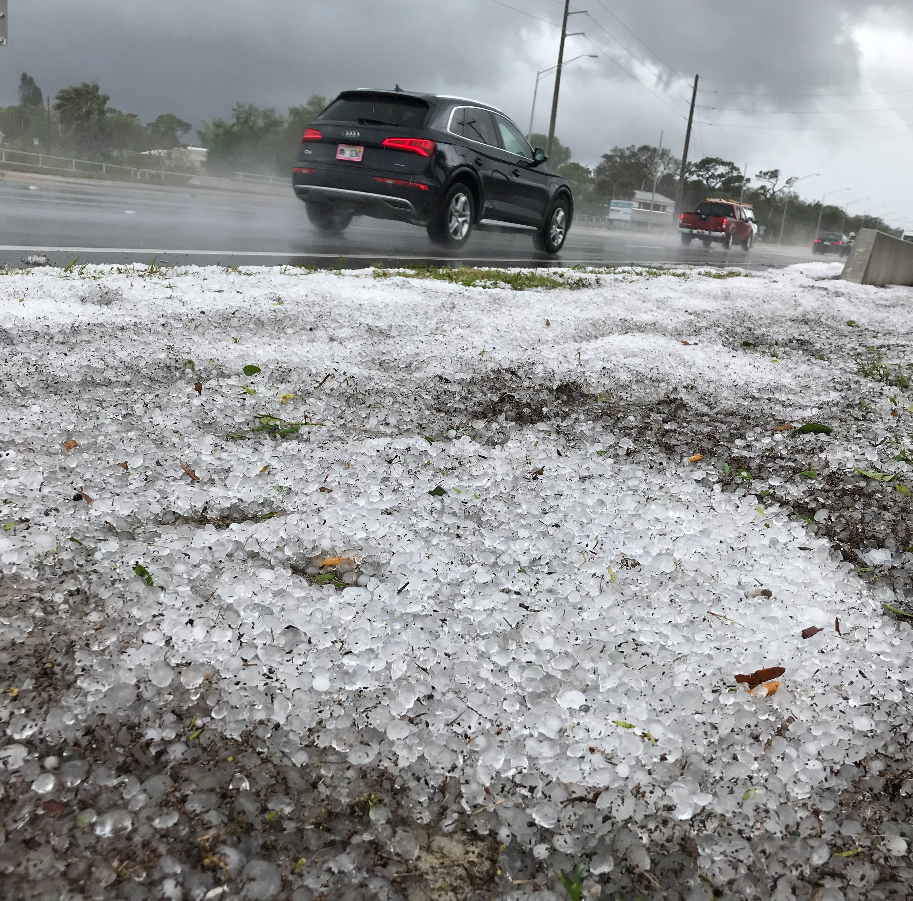 Rain, hail pelts north, central Brevard County causing widespread damage
