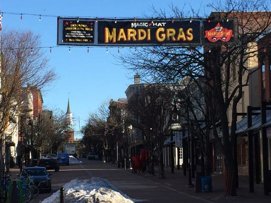 Magic Hat's annual Mardi Gras celebration will no longer feature a parade, instead focusing this weekend on a party on the Church Street Marketplace.