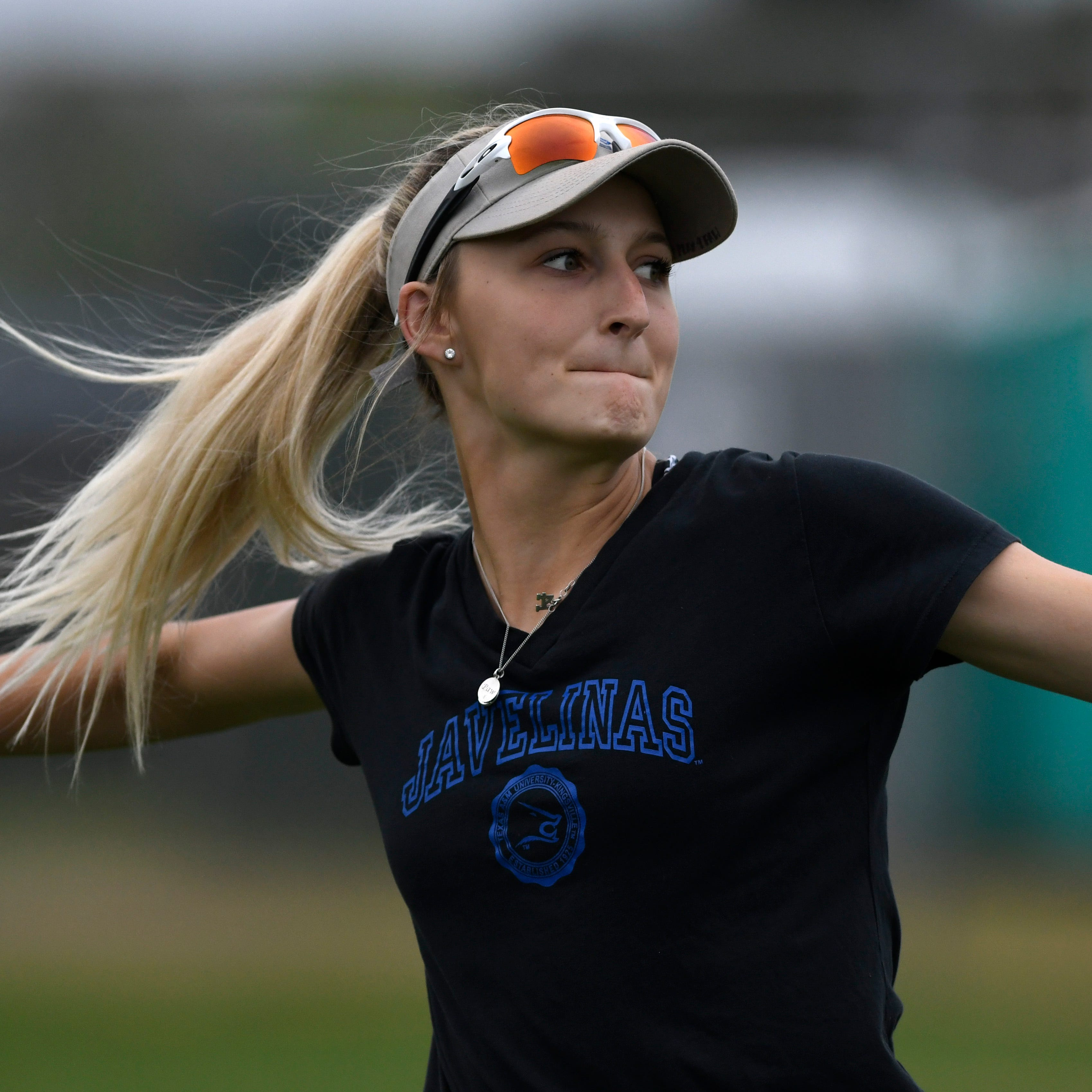 Family motivates Kelly to success with Texas A&M-Kingsville's softball program