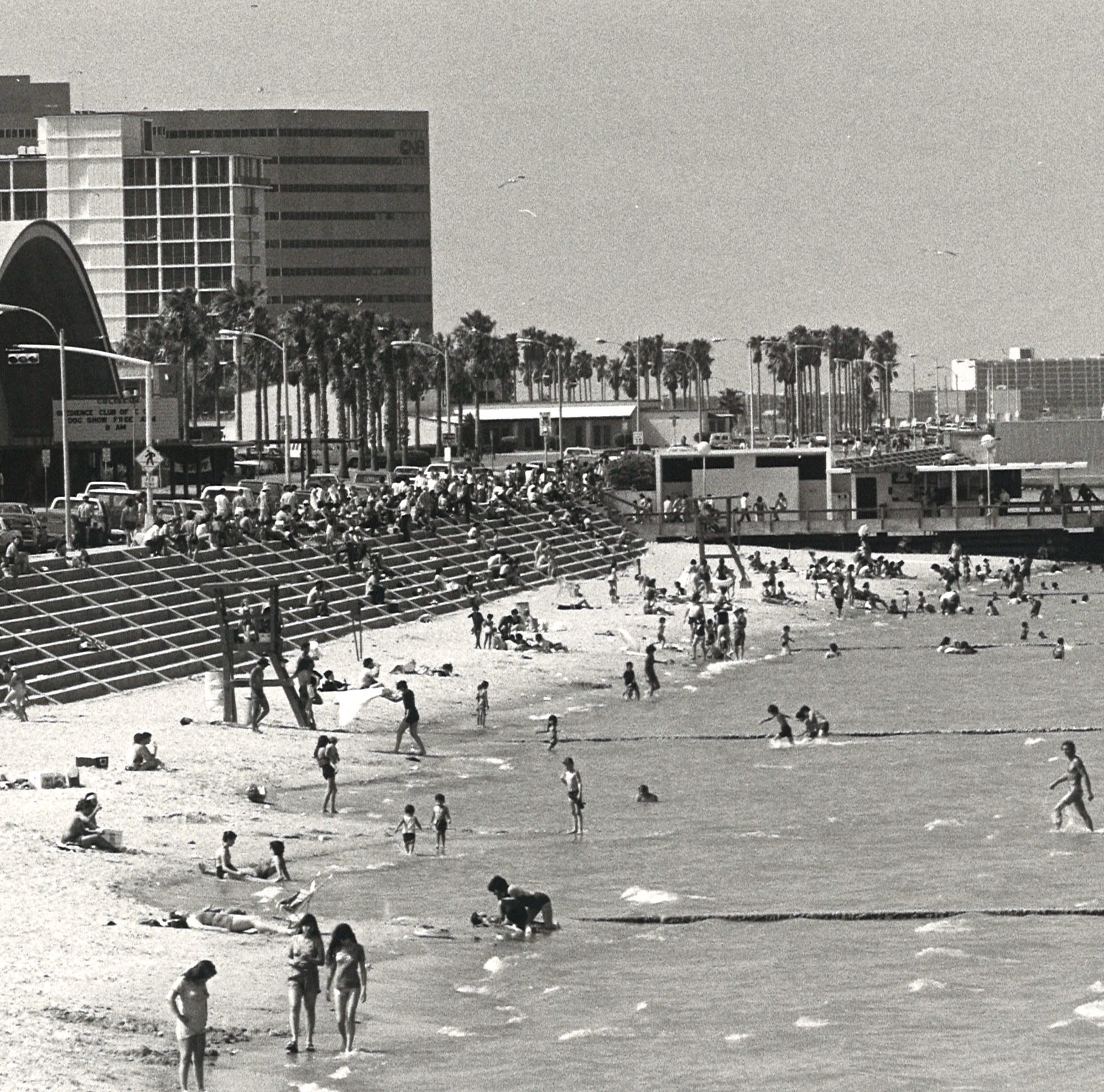 THROWBACK THURSDAY: Corpus Christi's McGee Beach in downtown dedicated in 1942