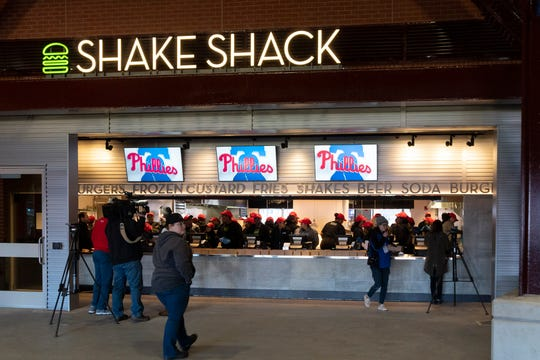 Get your Shake Shack on at Citizens Bank Park.