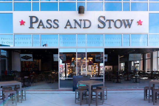Pass and Stow offers indoor and outdoor seating at Citizens Bank Park.