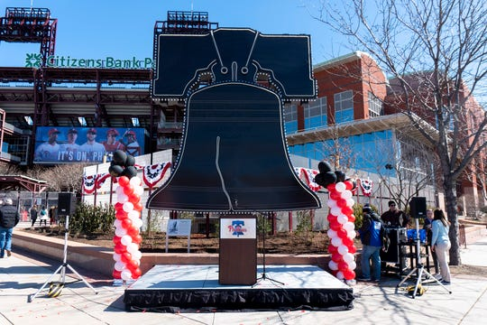 Fronted by the giant neon-outlined Liberty Bell that used to top Veterans Stadium, the new concession is anchored by a restaurant called Pass and Stow.