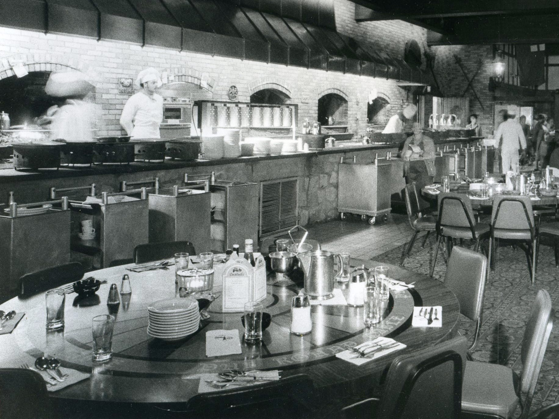 A 1976 Courier-Post file photo shows the dining room of The Pub in Pennsauken.